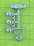 Кнопка наружная функциональные Samsung S500, серебристый, Оригинал #AD81-04490A