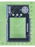 Задняя панель с кнопками Samsung S500, черный, Оригинал #AD97-14257A