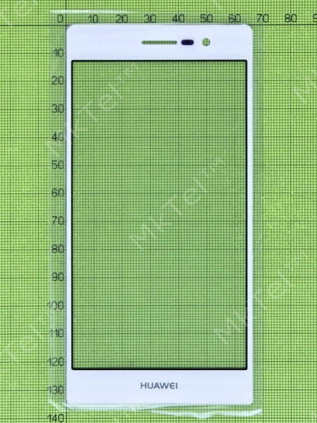 Стекло сенсора Huawei Ascend P7 Sophia, белый copyAA