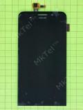 Дисплей Asus Zenfone Max ZC550KL с сенсором, черный self-welded