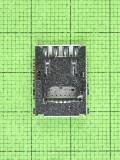 Коннектор SIM карты Huawei Y3II (LUA-U22), Оригинал #97070NEV