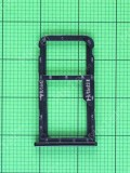 Держатель SIM Huawei Mate 10 Lite (RNE-L21), черный orig-china