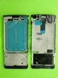 Металлическая основа Nokia X3-02, в сборе, черный, Оригинал #0257577