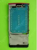 Металлическая основа Nokia X3-02, в сборе, розовый, Оригинал #0257579