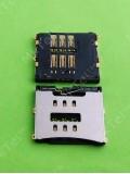 Коннектор SIM карты iPhone 4G, orig-china