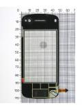 Сенсор China Mobile 49х110х67x00x22x101xD1 N97, черный copy