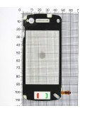 Сенсор China Mobile 49х110х67x00x22x101xD1 N97, белый copy