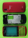 Корпус Nokia Asha 300, красный copyAA