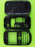 Корпус Nokia Asha 200, черный copyAA
