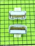 Контактная кнопка 2pin Samsung 3.85X2.9X1.55, Оригинал #3404-001303