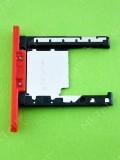 Заглушка карты памяти Nokia Lumia 720, красный, Оригинал #0269D28