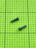 Винт iPhone 5C разъема зарядки, 2шт, черный orig-china