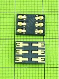 Коннектор SIM карты FLY IQ442 Quad Miracle 2, Оригинал #TY012089Y7