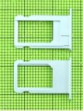 Держатель SIM карты iPhone 6 plus, белый orig-china