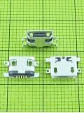 Разъем USB FLY IQ440 Energie micro USB, orig-china