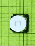 Кнопка Home с пружиной iPad 2, белый orig-china