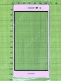 Стекло сенсора Huawei Ascend P7 Sophia, розовый copyAA