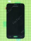 Дисплей Samsung Galaxy J1 SM-J120F с сенсором, черный, Оригинал #GH97-18224C