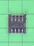 Коннектор SIM карты Nomi i5013 EVO M2 Pro Оригинал