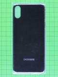 Задняя крышка Doogee X55, черный Оригинал #DGA68-JG012-01