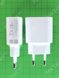 Сетевая зарядка USB 2А Xiaomi MDY-09-EW, белый Оригинал