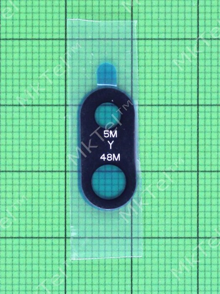Стекло камеры Xiaomi Redmi Note 7, черный, Оригинал