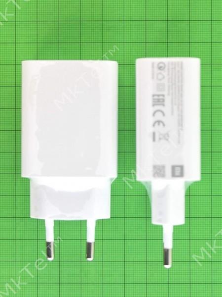 Зарядное устройство Xiaomi MDY-10-EF Quick Charge 3.0 белое Оригинал #471351X02012