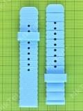 Длинная часть ремешка часов Nomi Kids Heroes W2 синяя Оригинал