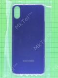 Задняя крышка Doogee X55 синяя Оригинал #DGA68-JG012-05