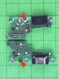 Плата разъема Type-C Huawei Nova 5T (Yal-L21A) Оригинал #02353CRS