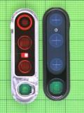 Декор камеры Xiaomi Redmi Note 8 Pro черный Оригинал #4850899000L6