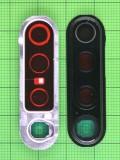 Декор камеры Xiaomi Redmi Note 8 Pro черный Оригинал #56000200G700