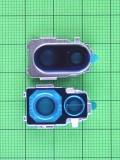 Декор камеры Xiaomi Redmi Note 7 серебристый Оригинал #560360005033