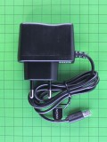 Зарядка USB 0,5A Nomi i2000 с USB шнуром, длина разъема 8мм, черный Оригинал