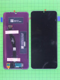 Дисплей Huawei Y6p с сенсором, черный Оригинал OEM