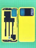 Задняя крышка Xiaomi POCO M3 желтая Оригинал #55050000QL9X