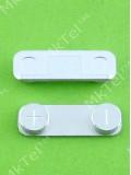 Кнопка громкости iPhone 5, серебристый orig-china