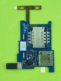 Коннектор SIM карты FLY IQ285 Turbo на плате, Оригинал #E2804000013