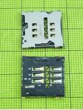 Коннектор SIM карты HTC One X S720e, orig-china