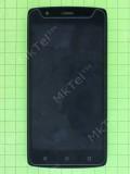 Дисплей Fly FS506 Cirrus 3 с сенсором, панелью, черный used