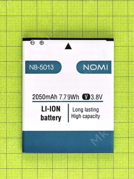 Аккумулятор NB-5013/5012 Nomi i5013 EVO M2 Pro 2050mAh, Оригинал