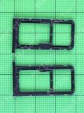 Держатель SIM Huawei P20 Lite, черный orig-china