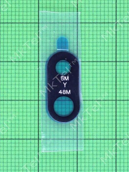 Стекло камеры Xiaomi Redmi Note 7, черный Оригинал