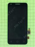 Дисплей Alcatel One Touch Pixi 4027D с сенсором, черный orig-china