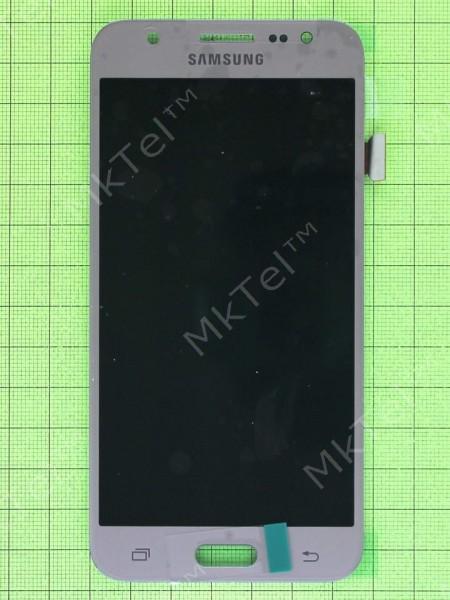 Дисплей Samsung Galaxy J5 SM-J500H с сенсором TFT матрица с регулировкой, золотистый copyAAA