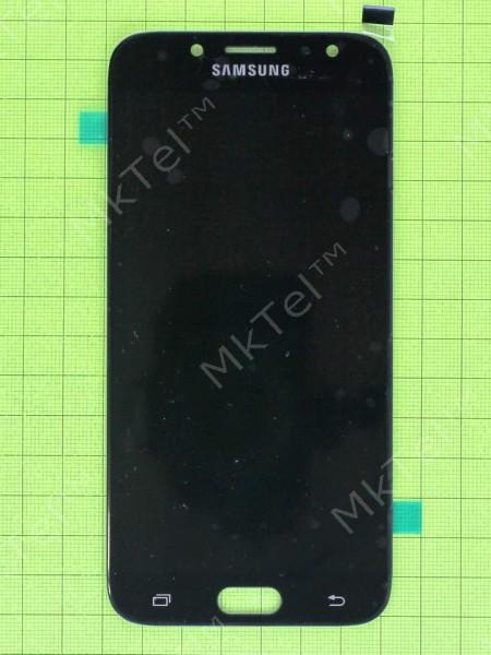 Дисплей Samsung Galaxy J7 2017 J730 с сенсором, черный copyAAA