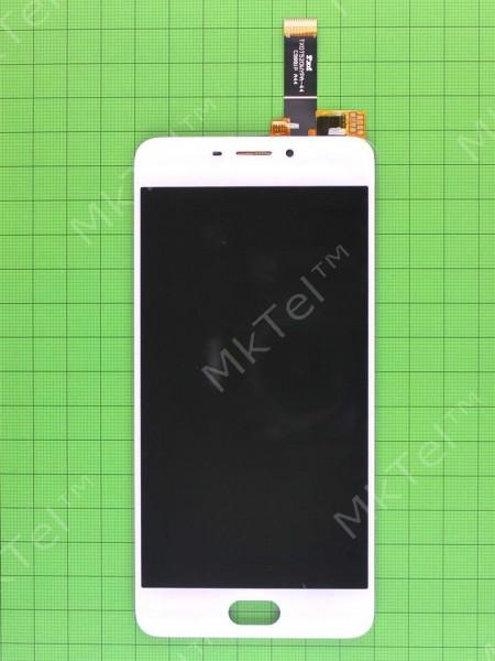 Дисплей Meizu M6 с сенсором, белый self-welded