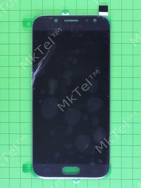 Дисплей Samsung Galaxy J5 2017 J530 с сенсором, TFT матрица с регулировкой, черный copyAAA