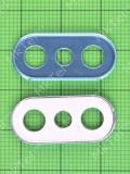 Декор камеры Xiaomi Mi A2 Lite, синий Оригинал