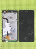 Дисплей FLY FS502 Cirrus 1 с сенсором, панелью, черный used
